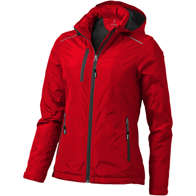 Rot - Front - Elevate Damen Smithers Jacke