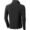 Anthrazit - Back - Elevate Herren Microfleece-Jacke Brossard