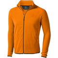 Orange - Front - Elevate Herren Microfleece-Jacke Brossard