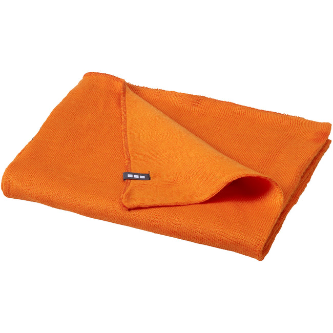 Orange - Back - Elevate Unisex Schal Mark