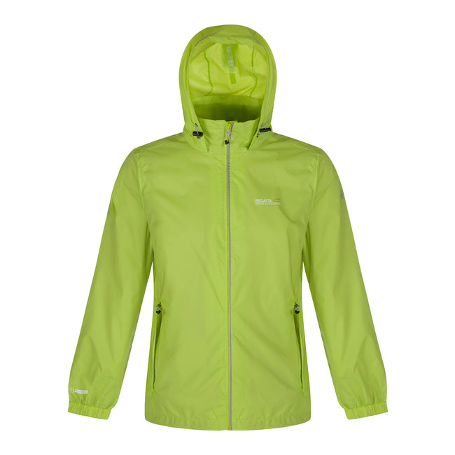 Lime - Front - Regatta Great Outdoors Herren Lyle III Jacke, reflektierend
