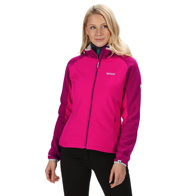 Pink-Rote Beete - Side - Regatta Damen Softshelljacke Arec II