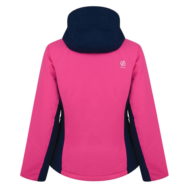 Pink - Back - Dare 2b Damen Skijacke Thrive