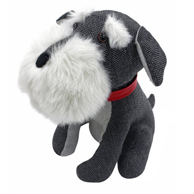 Mehrfarbig - Front - Riva Home Novelty Schnauzer Türstopper