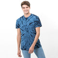Spider Marineblau - Back - Colortone Unisex Tonal Spider T-Shirt