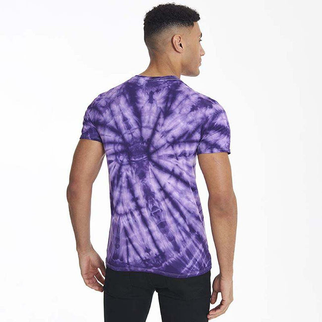 Spider Violett - Side - Colortone Unisex Tonal Spider T-Shirt