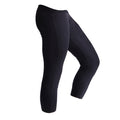 Schwarz - Back - SF Damen Trainingshose - Sportleggings, 3-4-lang