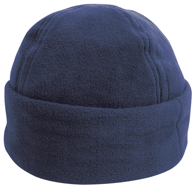 Marineblau - Front - Result Unisex Winter Fleece-Mütze