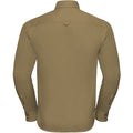 Zink - Side - Russell Collection Herren Twill Hemd, Langarm