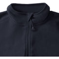 Schwarz - Lifestyle - Russell Europe Herren Mikrofleece Top mit 1-4 Zip