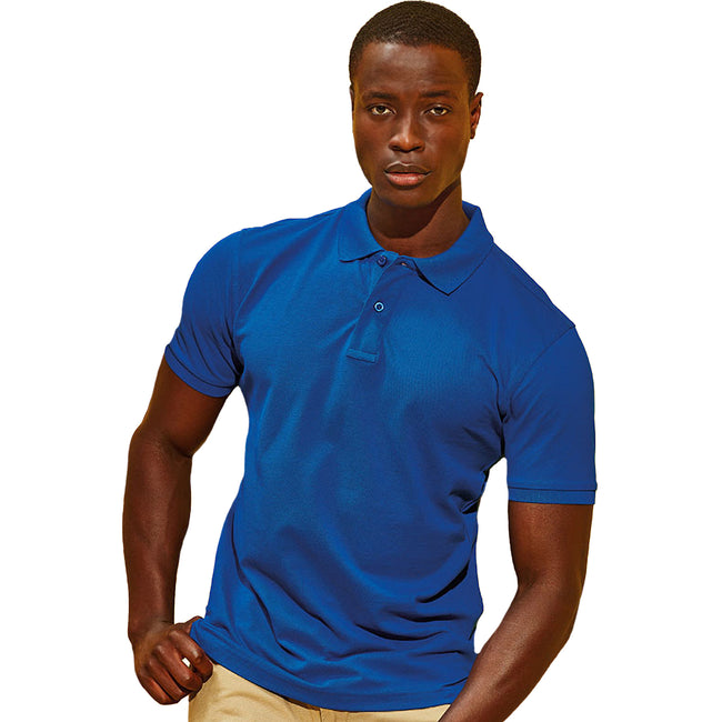 Hell Royal - Front - Asquith & Fox Herren Polo-Shirt, Kurzarm