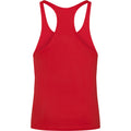 Feuerrot - Back - AWDis Just Cool Herren Muskelshirt - Muscle Top - Sport-Oberteil