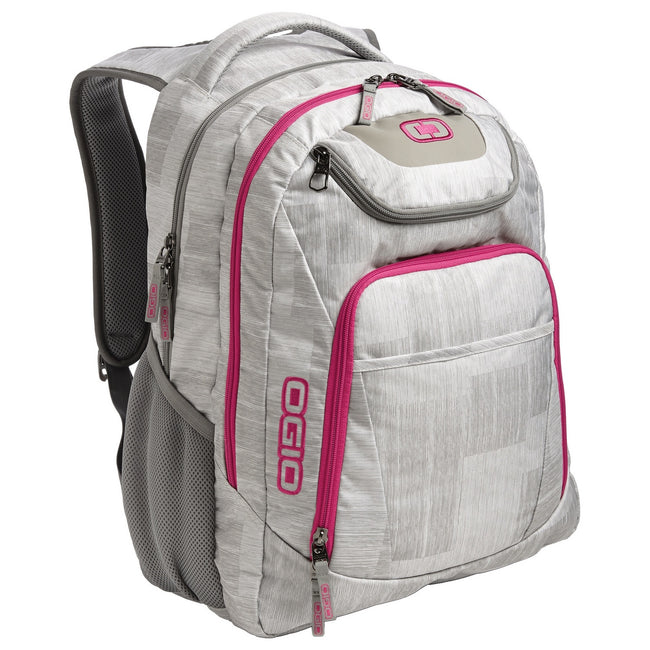 Blizzard-Pink - Front - Ogio Business Excelsior Laptop Backpack - Rucksack