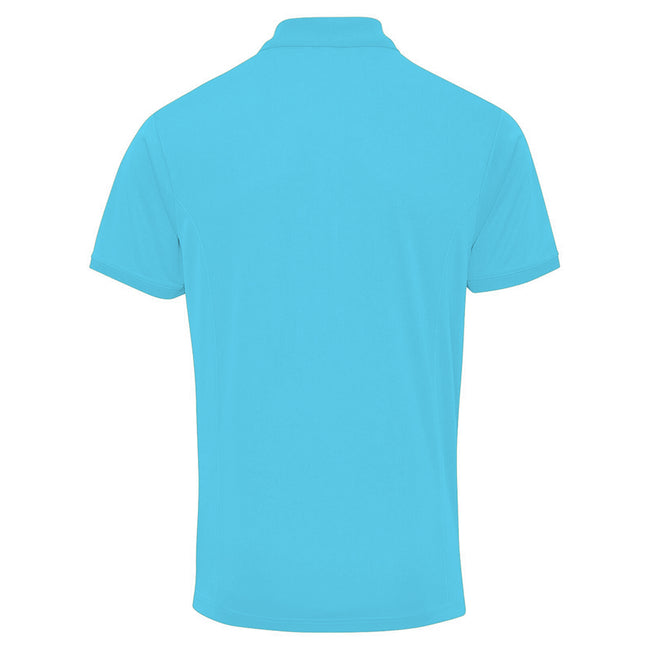 Kelly - Front - Premier Herren Coolchecker Pique Kurzarm Polo T-Shirt