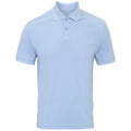 Schwarz - Back - Premier Herren Coolchecker Pique Kurzarm Polo T-Shirt
