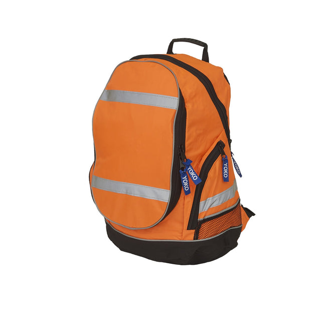 Orange - Front - Yoko High Visibility London Rucksack