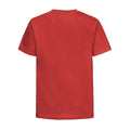 Flaschengrün - Front - Jerzees Schoolgear Kinder Slim Fit Baumwoll T-Shirt