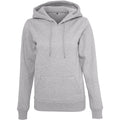 Grau meliert - Front - Build Your Brand Damen Heavy Kapuzenpullover