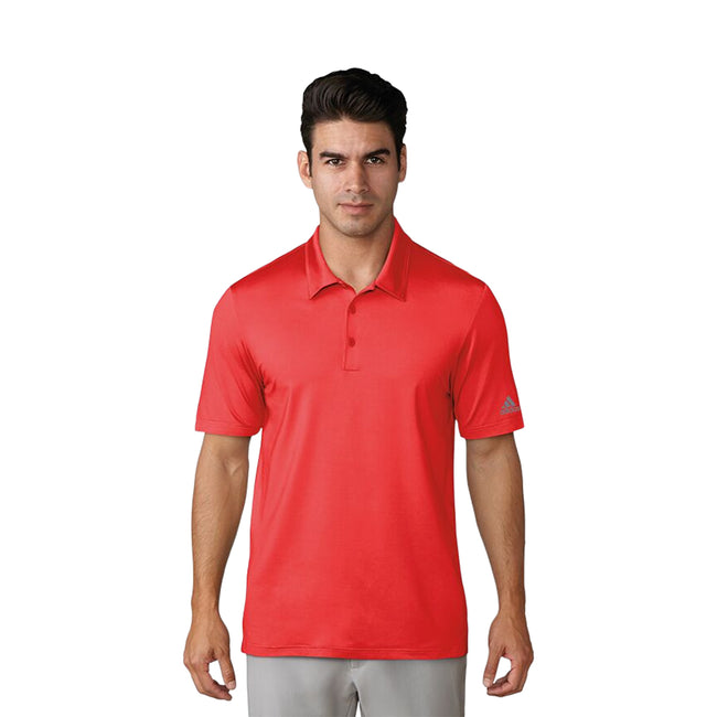 Navy - Front - Adidas Herren Ultimate 365 Polo-Shirt