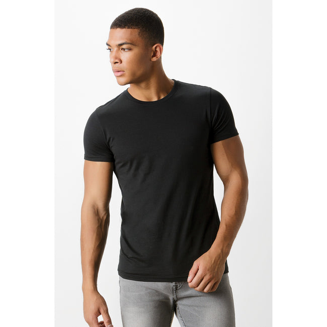 Schwarz - Back - Kustom Kit Herren Fashion Fit Tee, Baumwolle