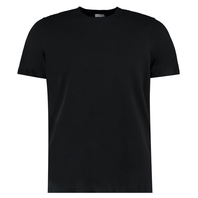 Schwarz - Front - Kustom Kit Herren Fashion Fit Tee, Baumwolle