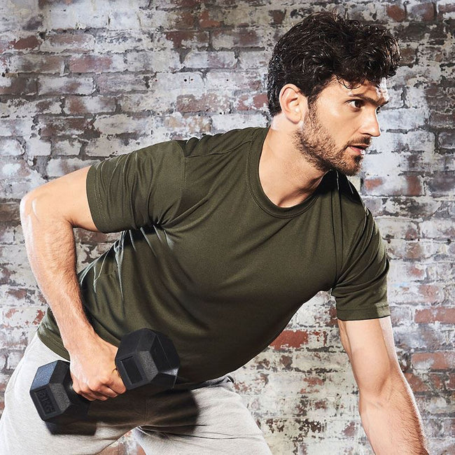 Hawaiiblau - Lifestyle - Just Cool Herren Performance T-Shirt