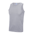 Hellgrau - Back - Just Cool Herren Sport Tank Top Gym