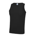 Schwarz - Back - Just Cool Herren Sport Tank Top Gym
