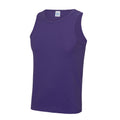 Violett - Back - Just Cool Herren Sport Tank Top Gym