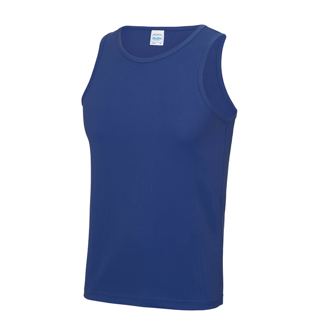 Königsblau - Back - Just Cool Herren Sport Tank Top Gym