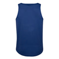 Saphirblau - Front - Just Cool Herren Sport Tank Top Gym