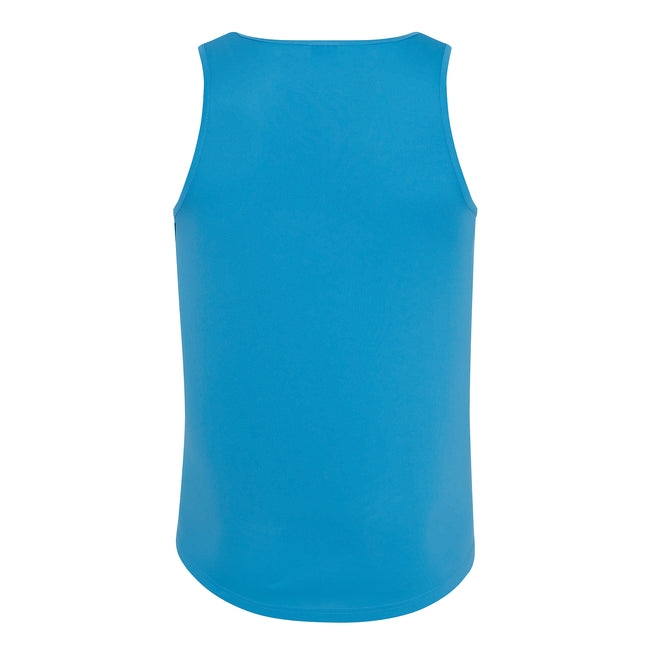 Sonnengelb - Front - Just Cool Herren Sport Tank Top Gym