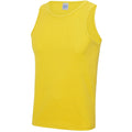 Sonnengelb - Side - Just Cool Herren Sport Tank Top Gym