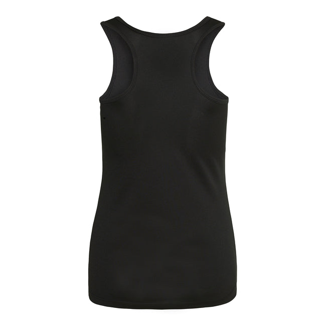 Schwarz - Side - Just Cool Damen Sport Tank Top