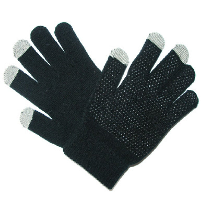 Schwarz - Front - Saddlecraft Magic Touchscreen-Handschuhe