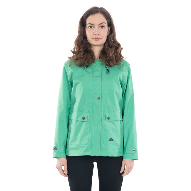 Klee - Back - Trespass Damen Outdoorjacke Seawater wasserdicht, mit Kapuze
