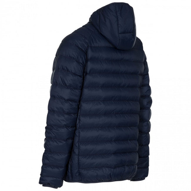 Marineblau - Back - Trespass Herren Steppjacke Bosten