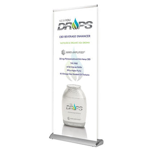 NEWYOU DROPS™ Retractable Banner