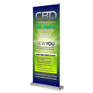 NEWYOU™ Opportunity Retractable Banner