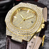 ICE OUT RAPPER DIAMOND WATCH - BLING LEGEND