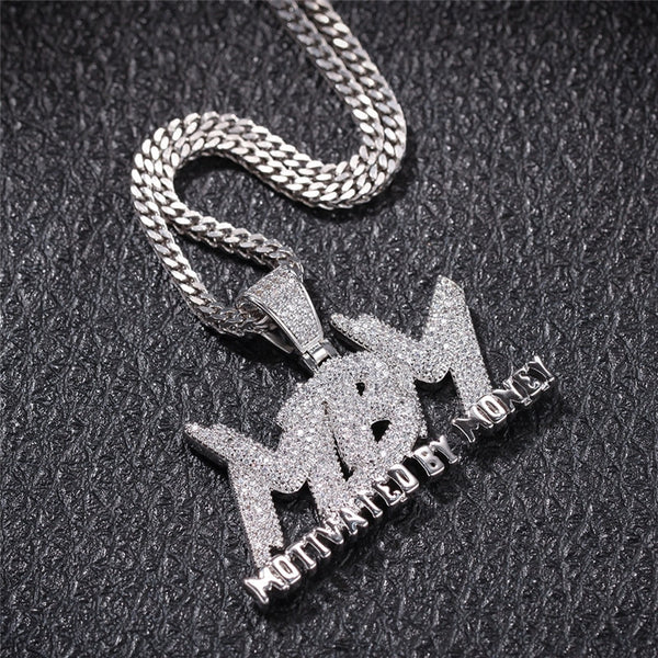 Motivated By Money Pendant Necklace