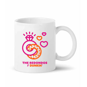 Newlyweds Run on Dunkin' Customizable Mug