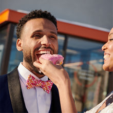 Load image into Gallery viewer, Dunkin' Pattern Bowtie