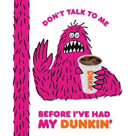 BEFORE MY DUNKIN' NOTEBOOK