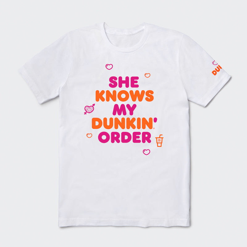 She Knows My Order Tee