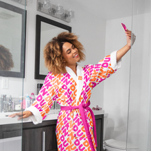 Load image into Gallery viewer, Dunkin' Treat Yoself Bathrobe