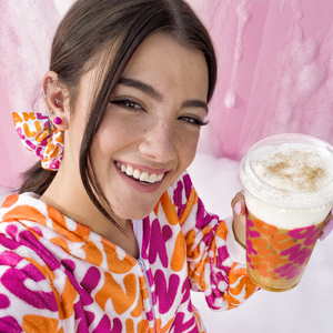 Charli x Dunkin' Oversized Scrunchie Set ( 2 pieces )