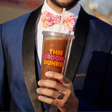Load image into Gallery viewer, This Groom Runs on Dunkin' Tumbler