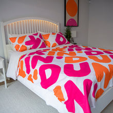 Load image into Gallery viewer, Dunkin' Duvet Cover Queen