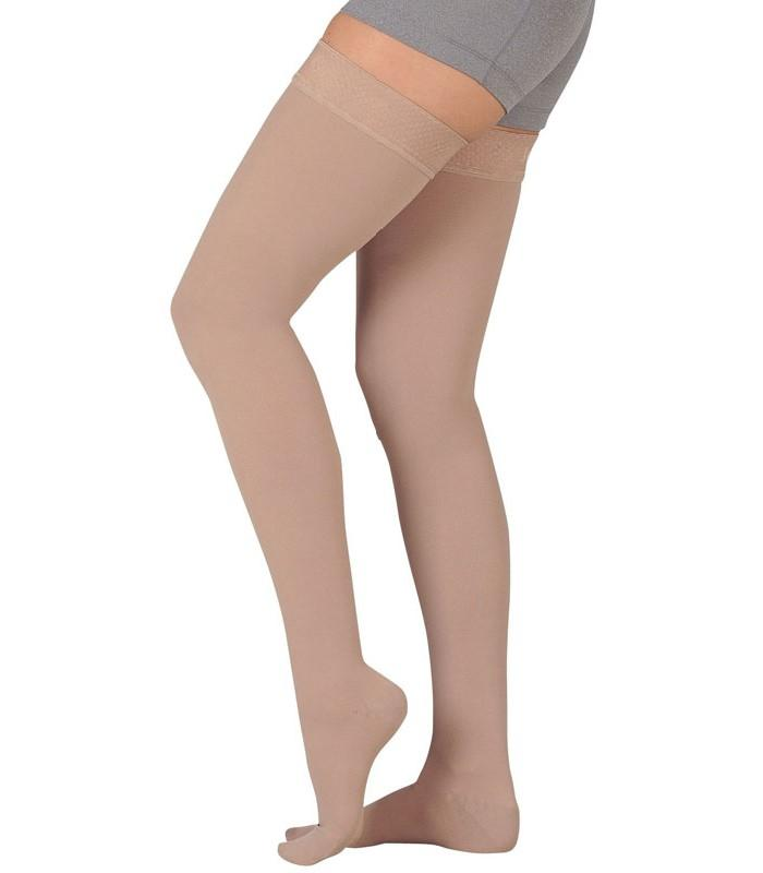 Thigh High Compression Socks - 30-40 mmHg Support Stockings